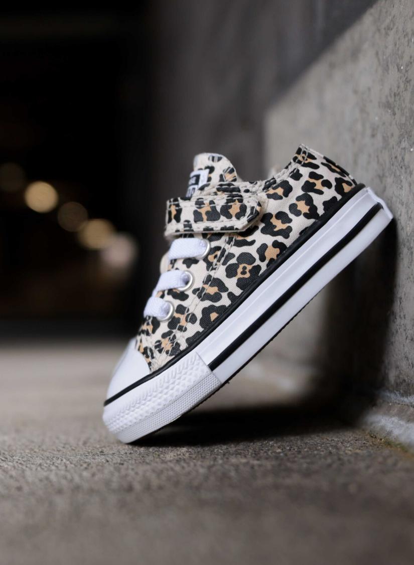 Converse Ox V Leopard Ts Zwart Kids Love Sneakers
